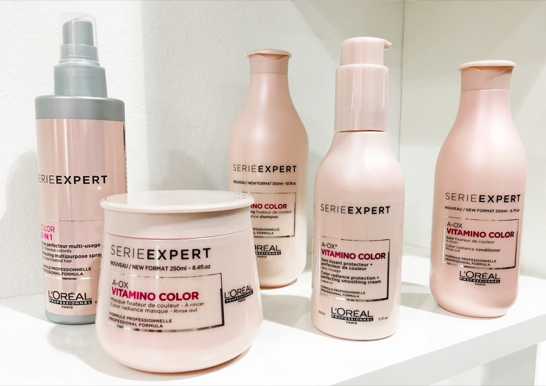 FRISEUR D MACHTS LOUNGE ALEXA VITAMINO COLOR SERIE EXPERT LOREAL