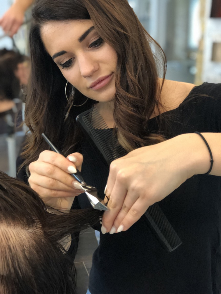 Frisuren mit calligraphy cut