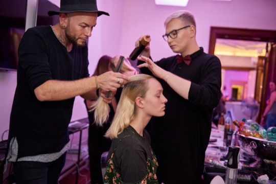 D MACHTS GROUP CREATIVE TEAM HAIR STYLIST BERLIN