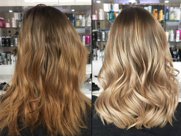 BALAYAGE BLOND FRISUREN