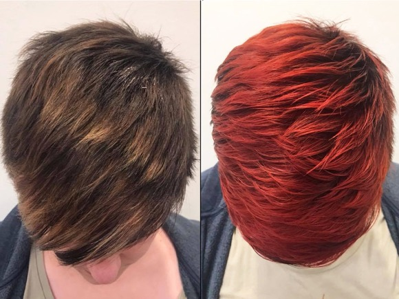 KREATIVE HAARFARBEN FRISUREN