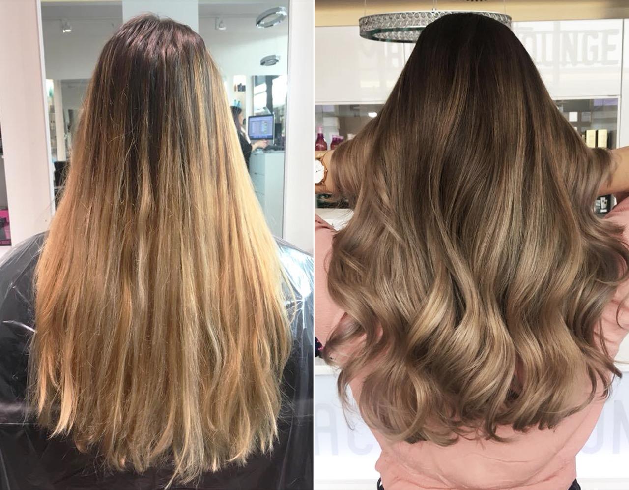 Haarfarben vom friseur