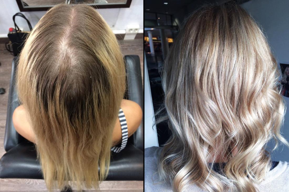 Haarfarben wie beim friseur