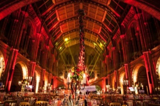 NATIONAL HISTORY MUSEUM ICE AGE BALL