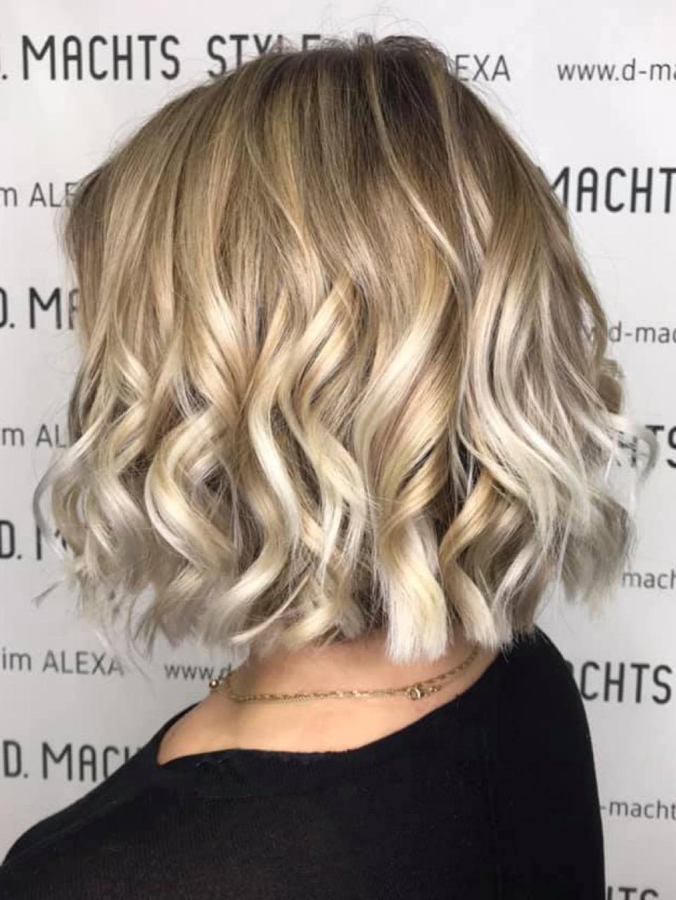 Strähnen braune haare bob blonde ▷ 1001+