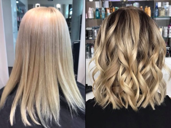 BLOND BALAYAGE D MACHTS LOUNGE MAAL OF BERLIN