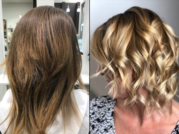 BLOND LONG BOB FRISEUR BERLIN