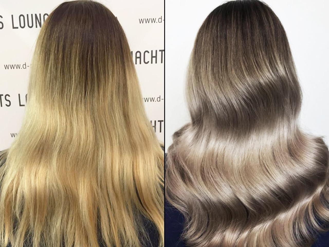 Haare blondieren ohne gelbstich