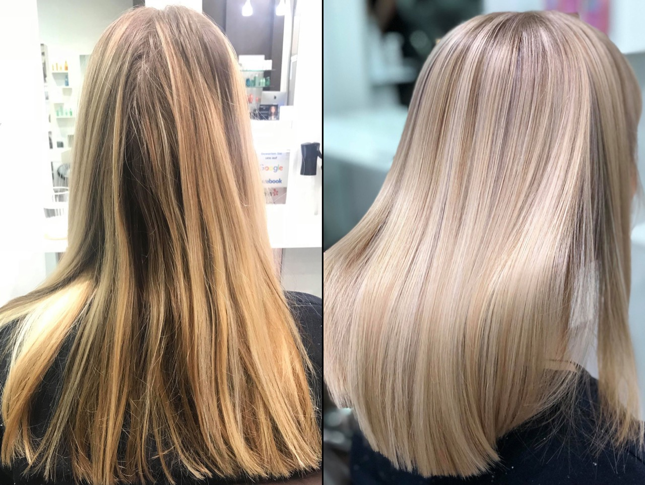 Blond rotstich entfernen