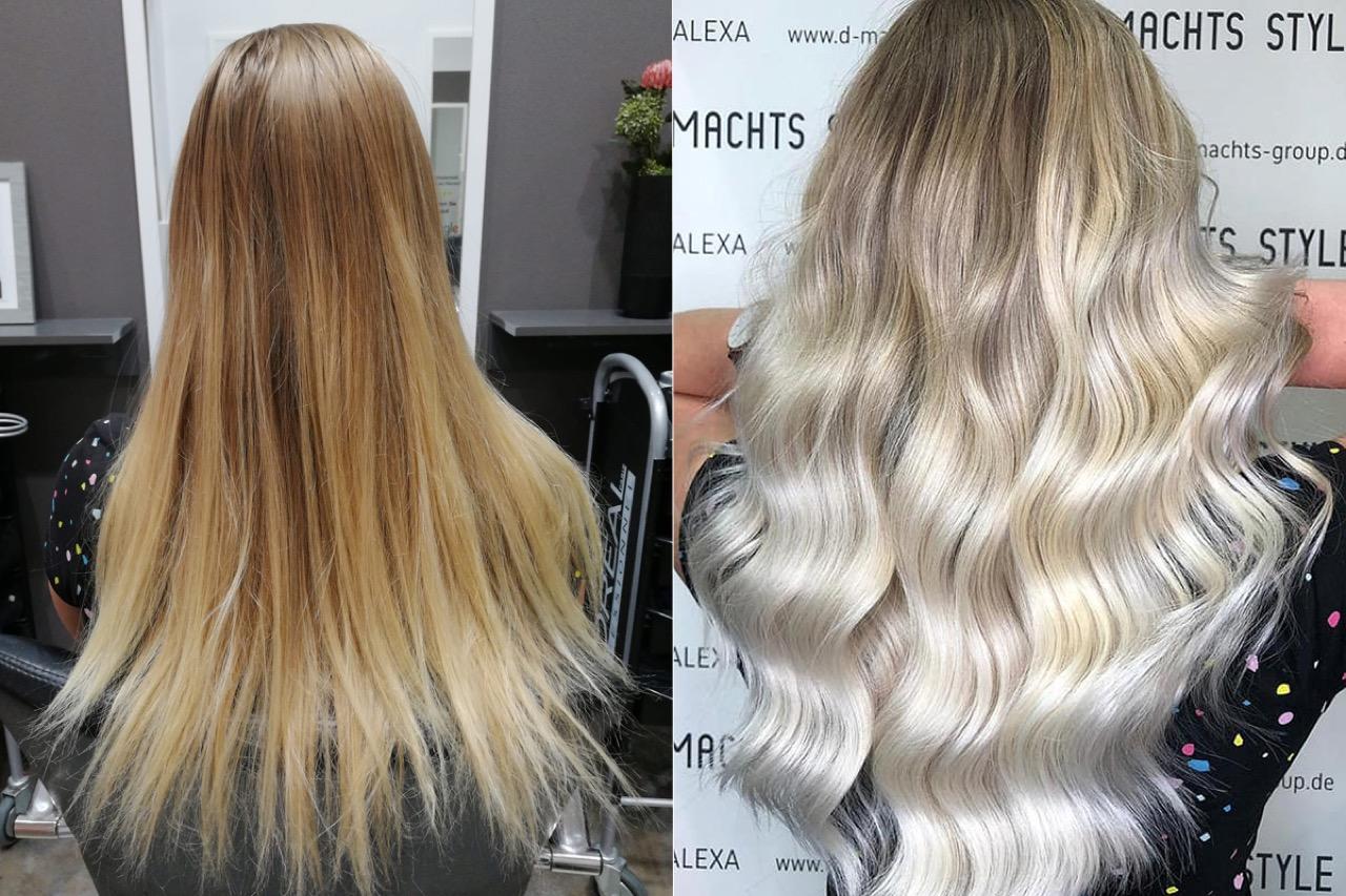 Färben grau nach blondieren Haarausfall nach