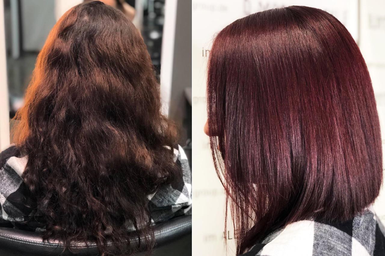 Haarfarbe trend 2020 rot
