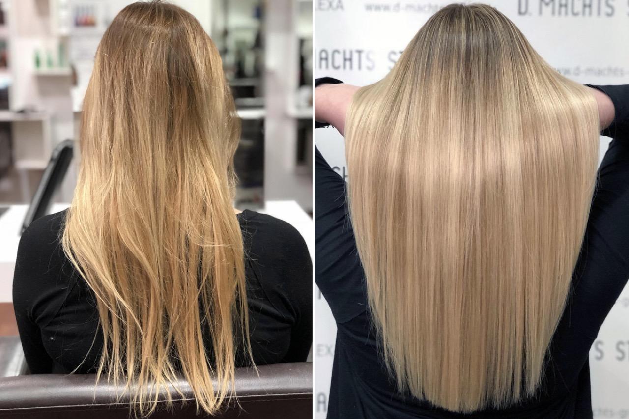 Schnelle leichte frisuren fur lange haare