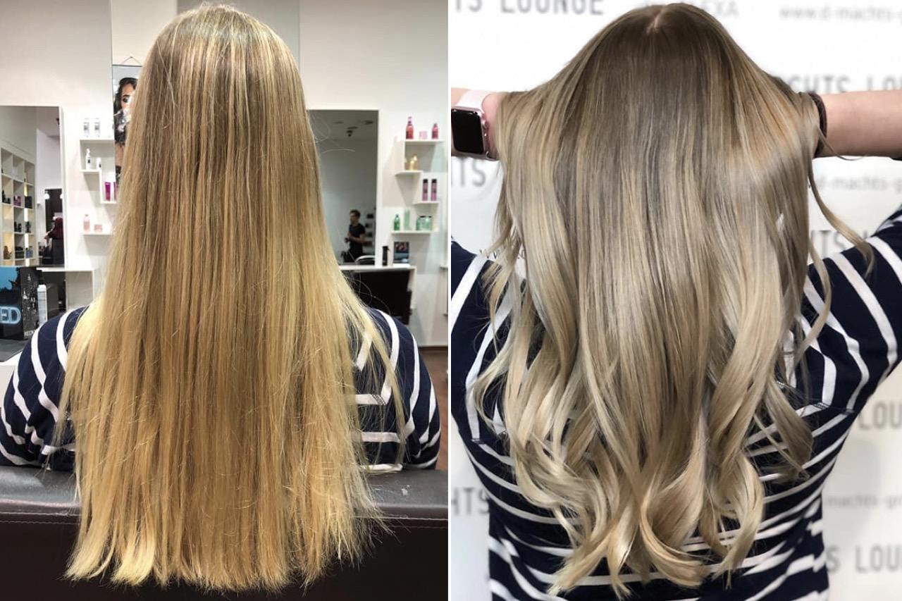 Frisuren fur langes blondes haar