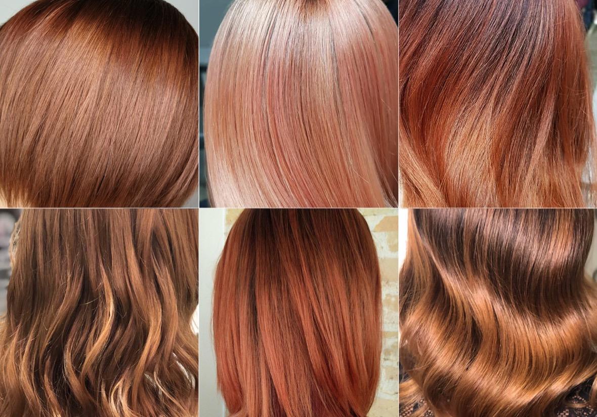 Farbe passt zu kleidung welche kupfer Haarfarbe Kupfer