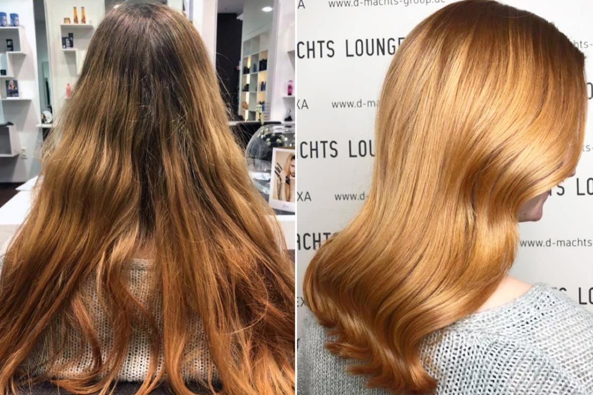 Hält wie permanente haarfarbe lange Haarfarben grautöne