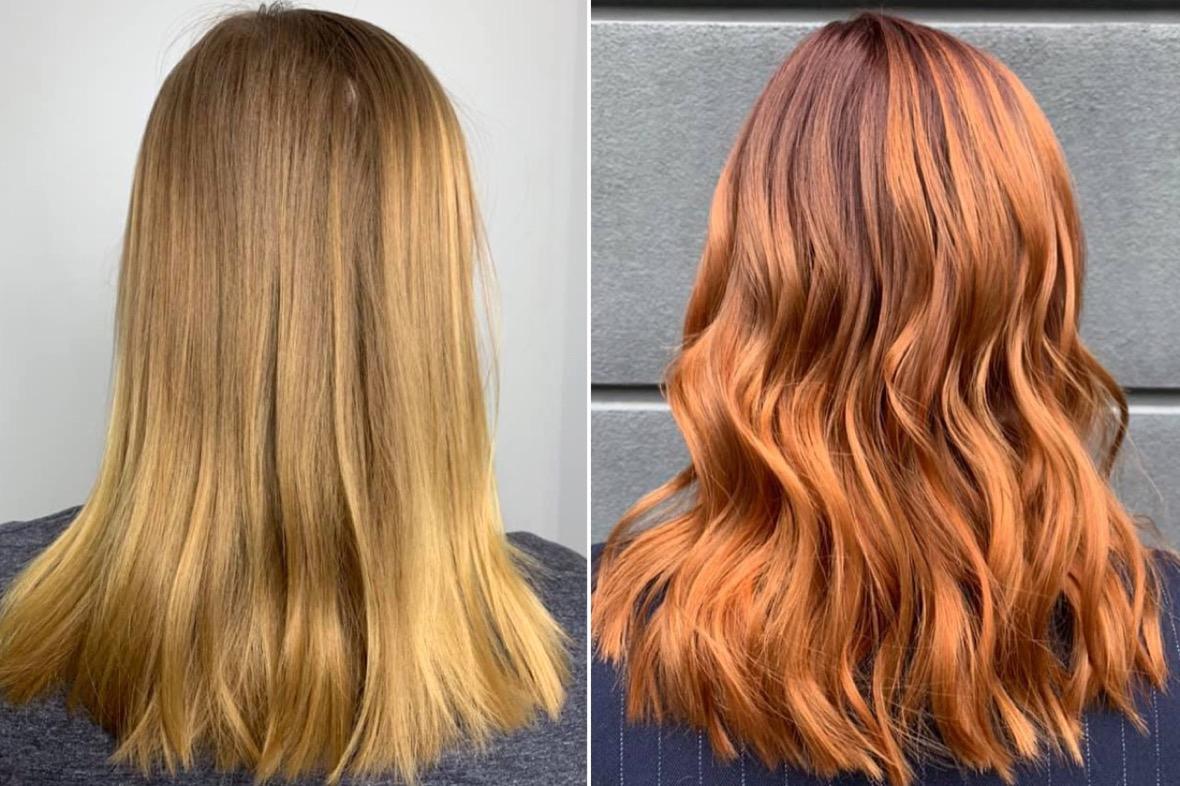 Dunkelblond färben haare blondierte Blond: Wie