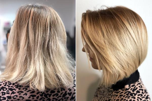 Neue Haarschnitt