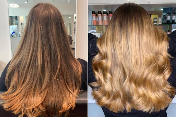 BALAYAGE FRISEUR D MACHTS LOUNGE MALL OF BERLIN MITTE