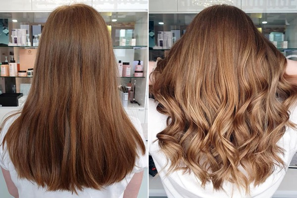 BESTER BALAYAGE FRISEUR D MACHTS LOUNGE MALL OF BERLIN MITTE