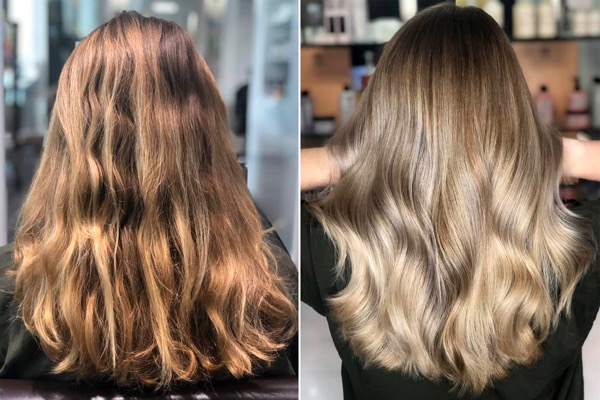 BALAYAGE FRISEUR FRISUREN D MACHTS LOUNGE MALL OF BERLIN MITTE