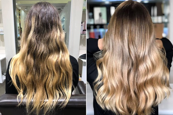 TOP BALAYAGE FRISEUR D MACHTS LOUNGE MLL OF BERLIN