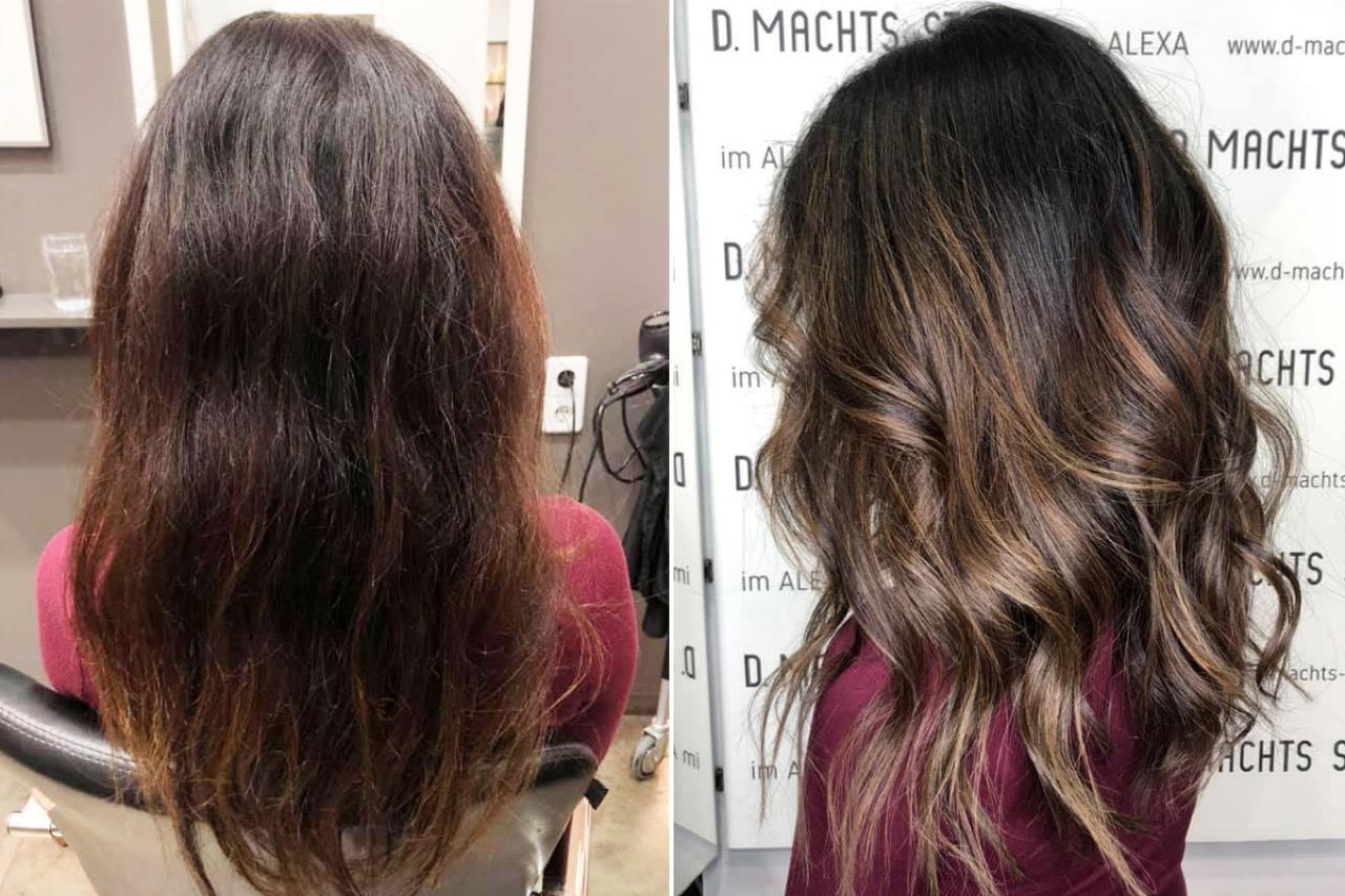kühles aschiges braun haarfarbe