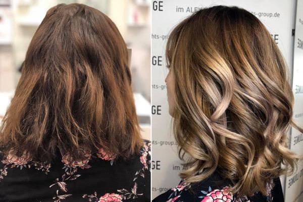 Haarfarbe Braun Von Dunkelbraun Bis Hellbraun