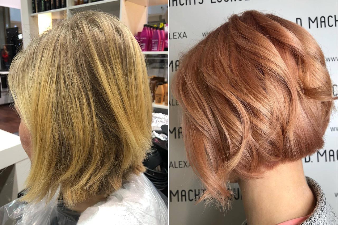Hält wie permanente haarfarbe lange Was ist