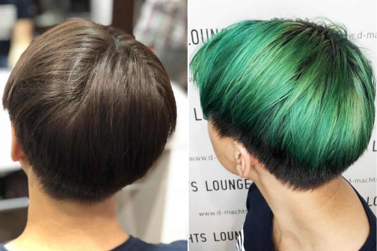 Haare färben jungs Haare färben
