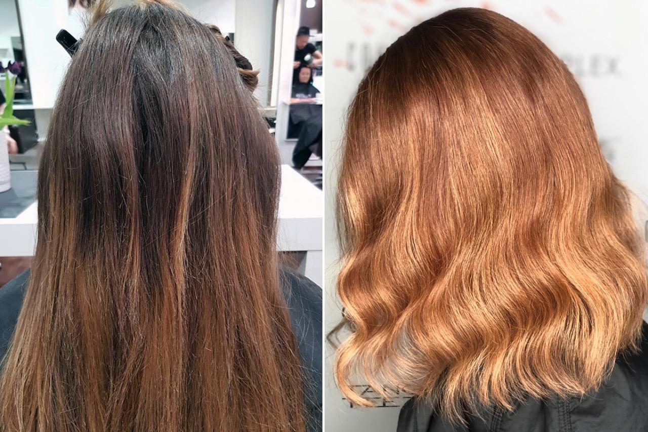 Mittelblond blondierte tönen haare blondierte Haare