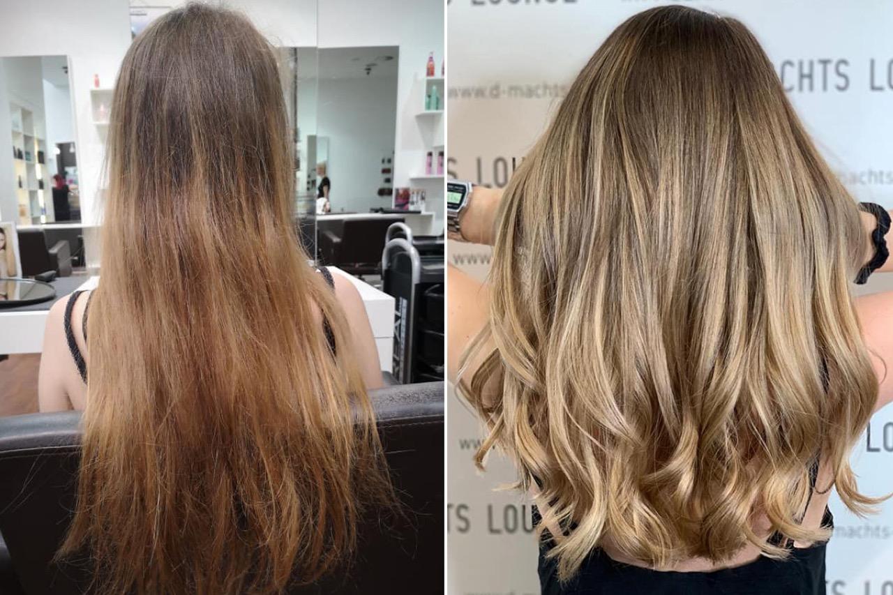 Lang lassen wachsen haare feine Feine Haare