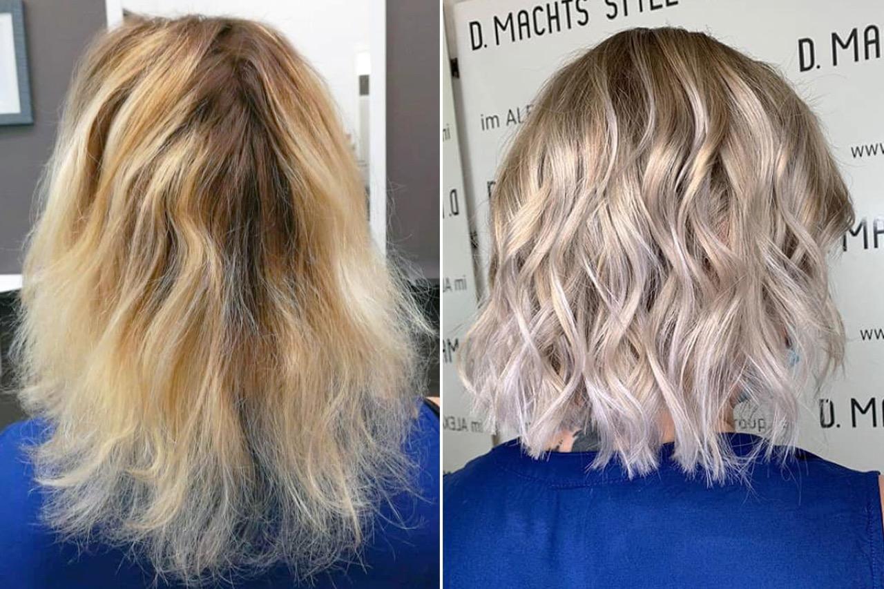 Frisur für wenig haare