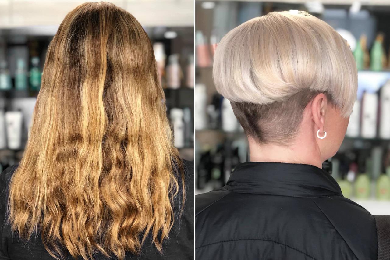 Frisuren Vorher Nachher   Haar Veränderung