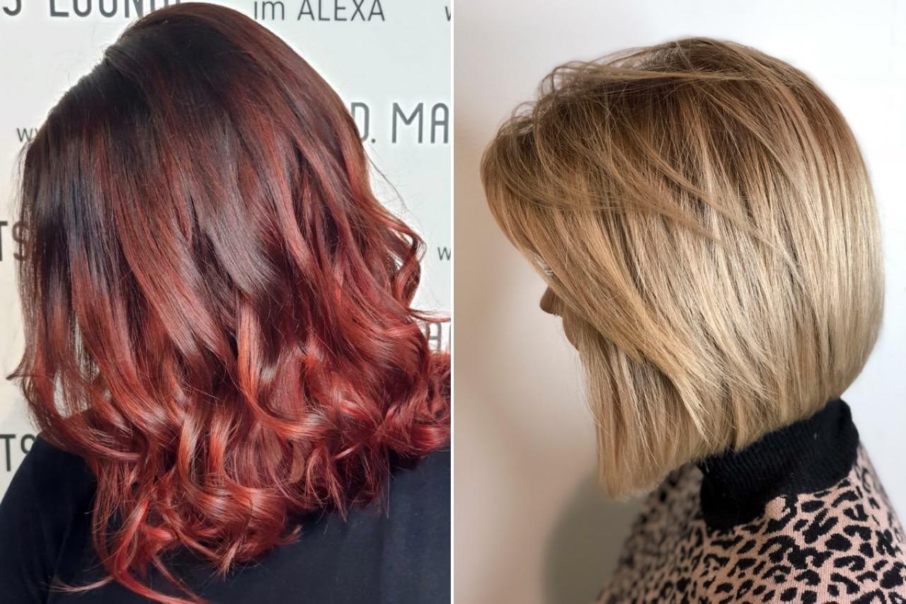 Frisurenberatung in Haarschnitt und Haarfarbe  Friseur Berlin