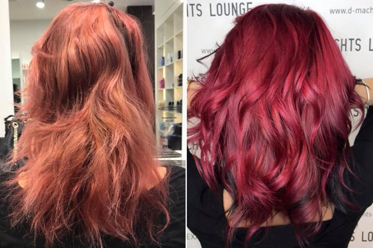 Blondieren rote ohne haare färben Braune Haare