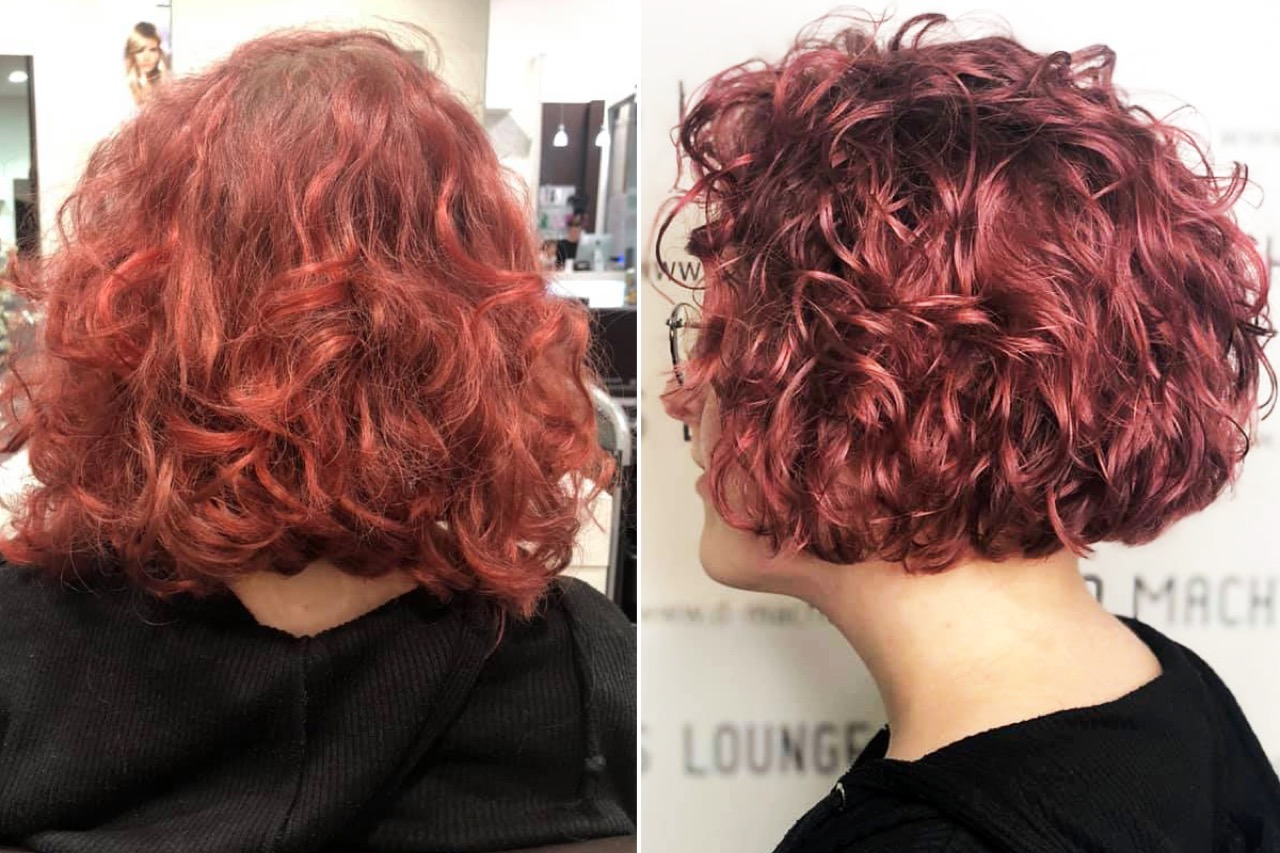 Strähnen frisuren rote Rote haare