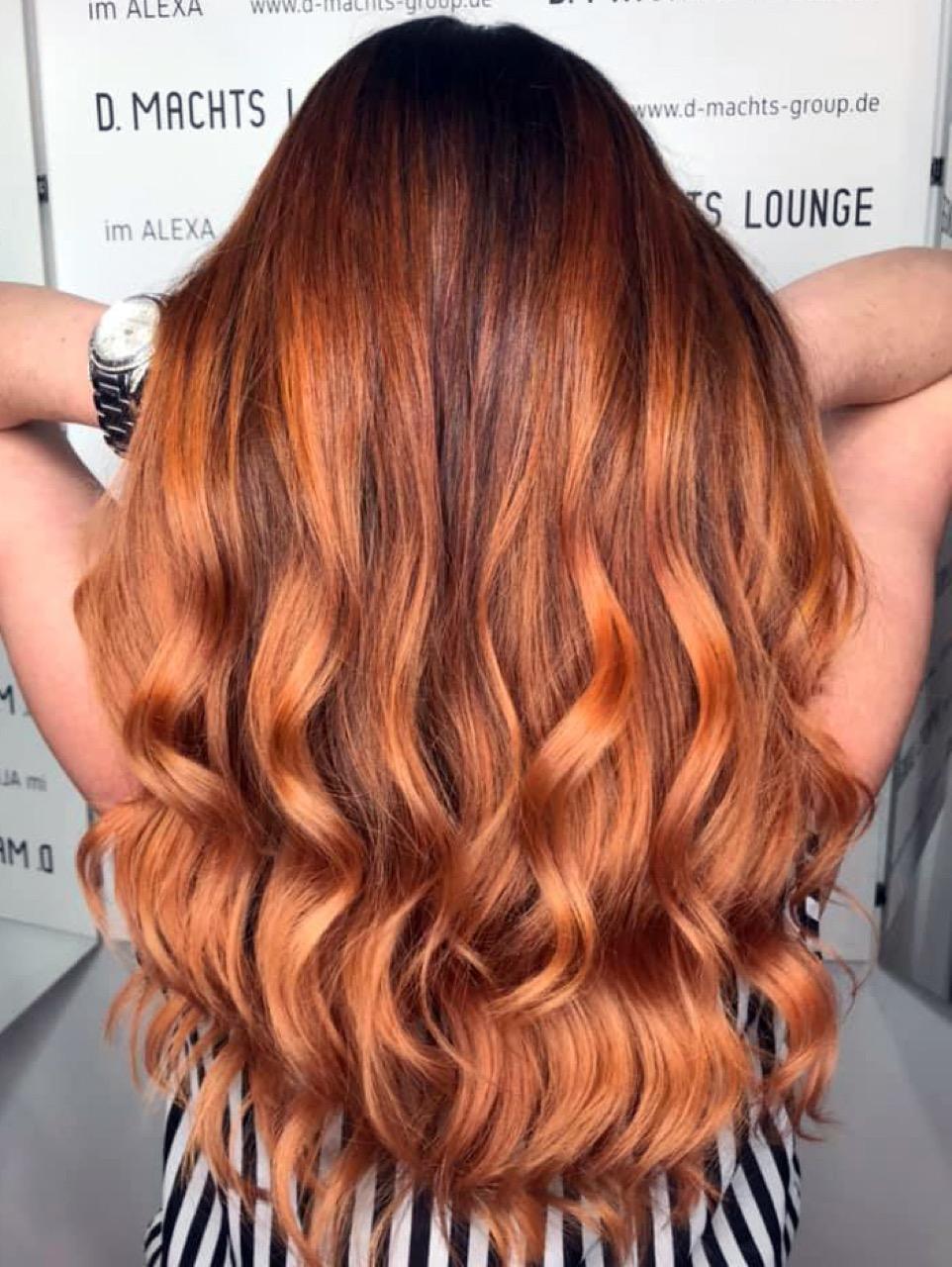 Haarfarbe Kupfer: Kupfer Haare färben - schönste Frisuren