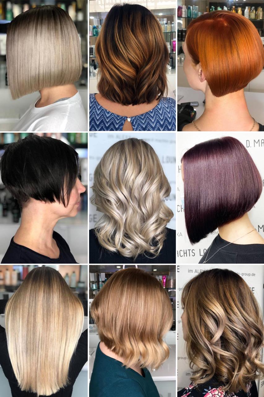 Lange von kurze haare auf Genial Frauen