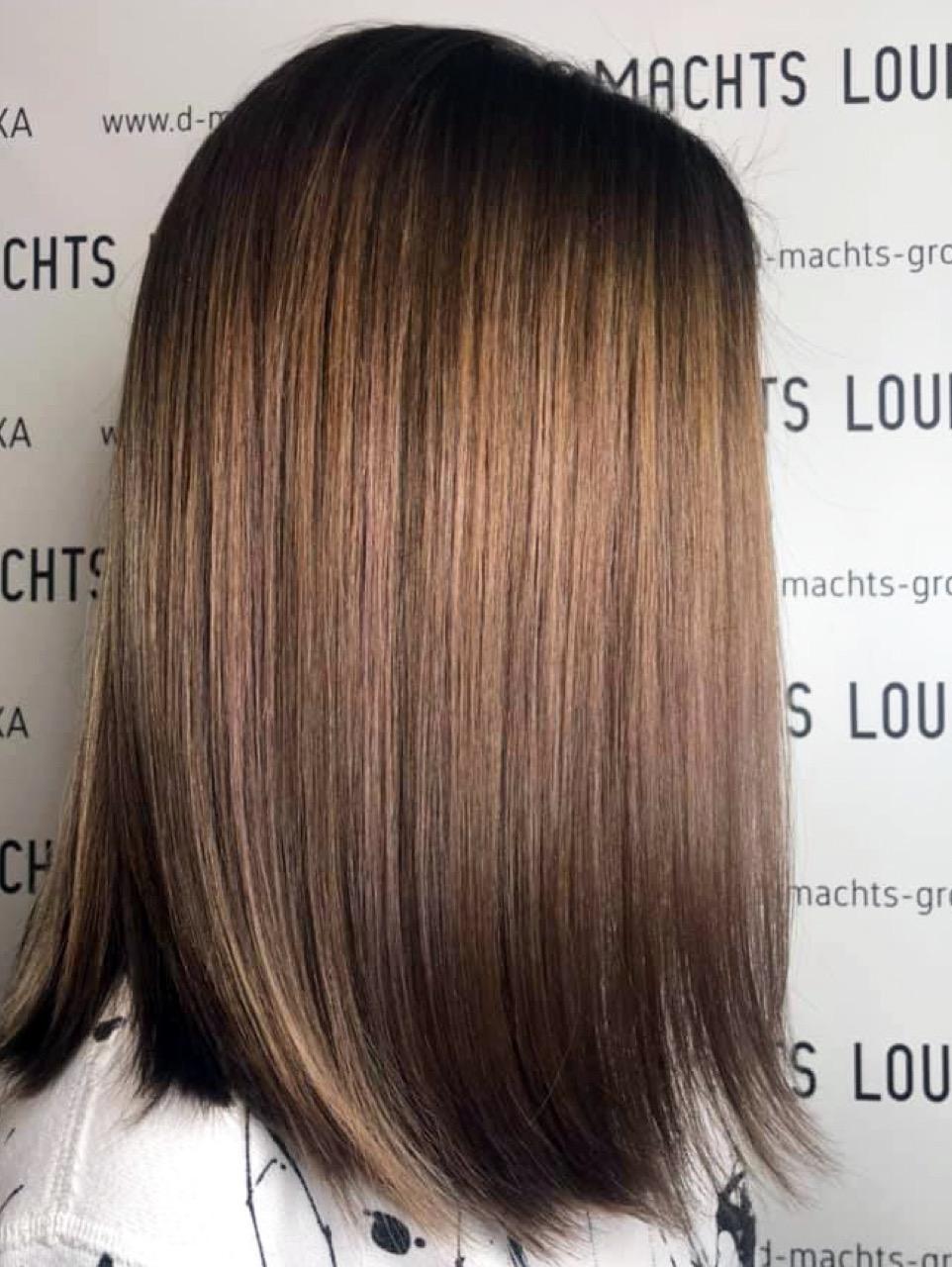 Braun schulterlange haare guartyportio: Blond