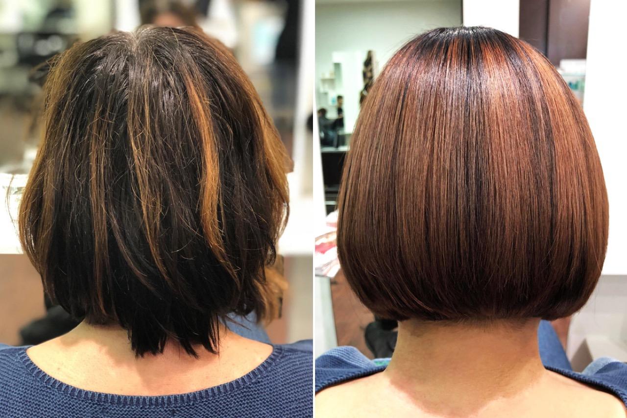 Schönste Long Bob & Bob Frisuren  Trend Haarschnitte