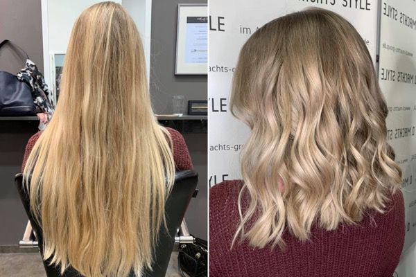 BLOND LONG BOB FRISUR BESTER FRISEUR BERLIN