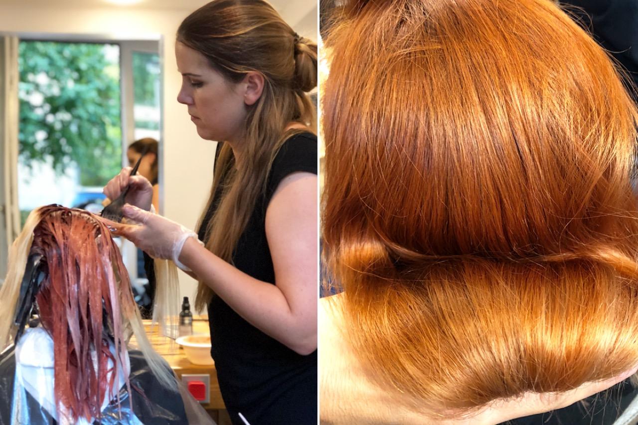 Kosten olaplex blondieren haare mit Haare färben