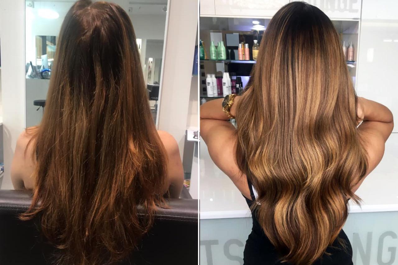 Braune braune haut helle augen haare Hauttyp bestimmen: