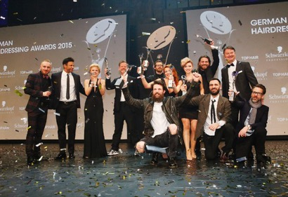 SCHWARZKOPF PROFESSIONAL WINNER GERMAN HAIRDRESSER 2015