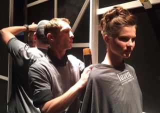 BACKSTAGE HAIR STYLING LOREAL REDKEN FASHION