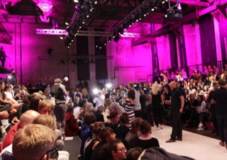 LOCATION BERLIN FASHION SHOW MITTE