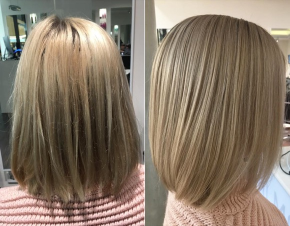 LONG BOB EXPERTE FRISEUR D MACHTS LOUNGE MALL OF BERLIN