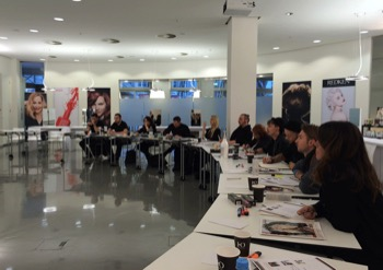 TOP TRAINER TEAM SEMINARE LOREAL REDKEN