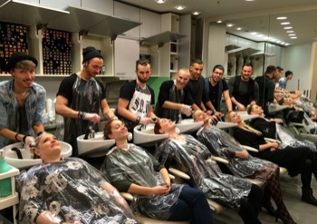 TRAINER TEAM D MACHTS GROUP LOREAL REDKEN